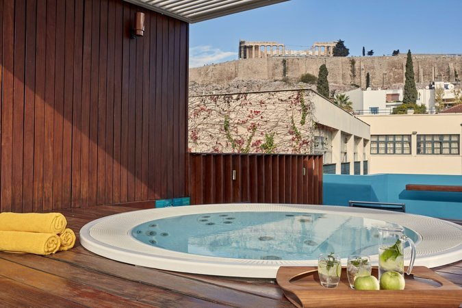 Hotels with Roof Garden Athens center | Herodion Hotel : herodion.gr