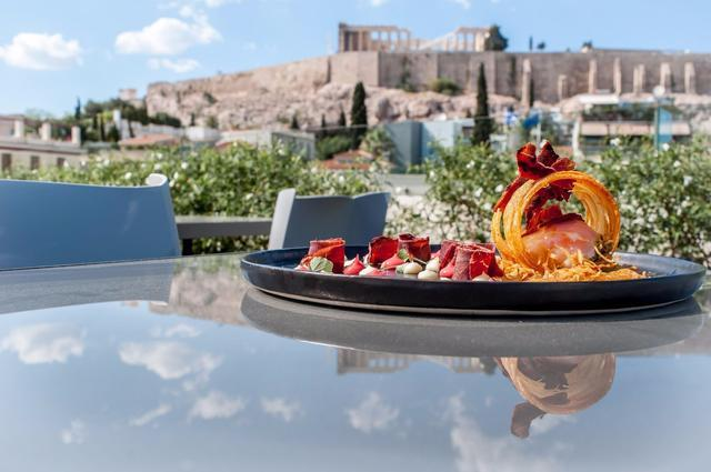 Herodion Hotel_gastronomy_creative_dishes_acropolis_view_Athens