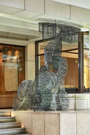 Herodion Hotel_Entrance_Art_Fingerprints
