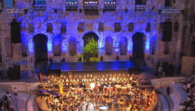 Live Performance at the Herodion Theater